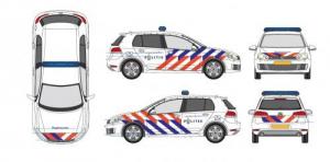 politiestriping